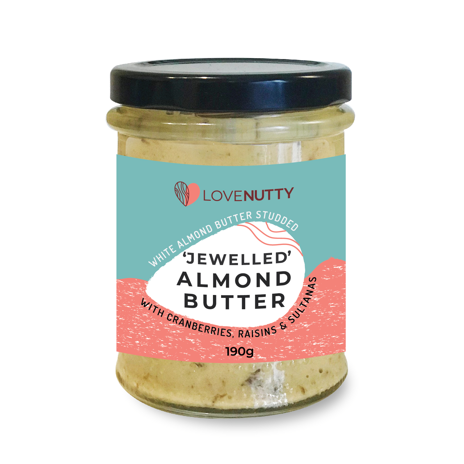 Jewelled almond butter image